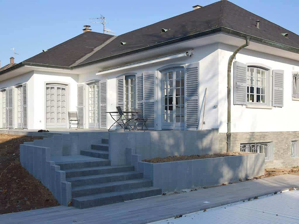 rénovation maison avec aménagement extérieur nos services