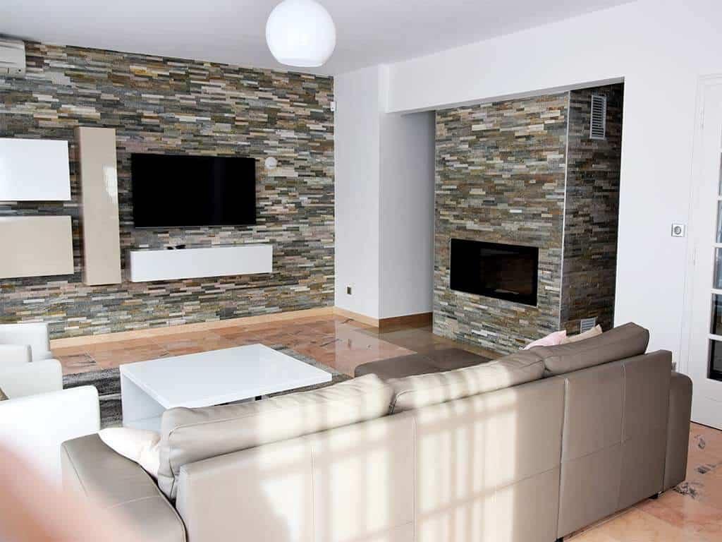 aménagement intérieur salon rénovation appartement